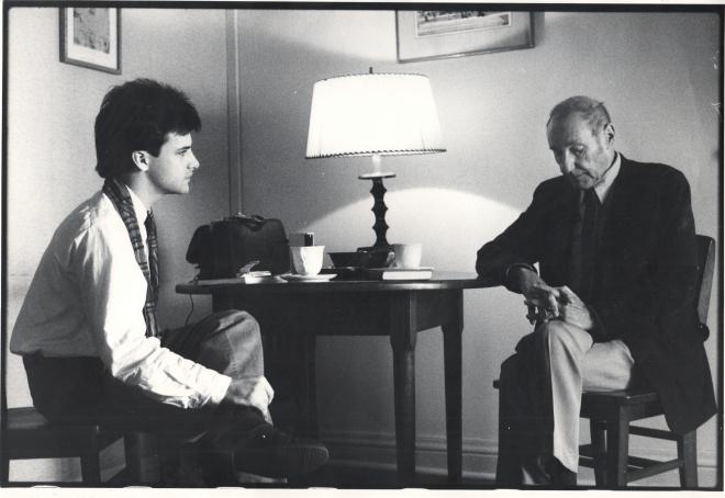 Oliver & William in 1984
