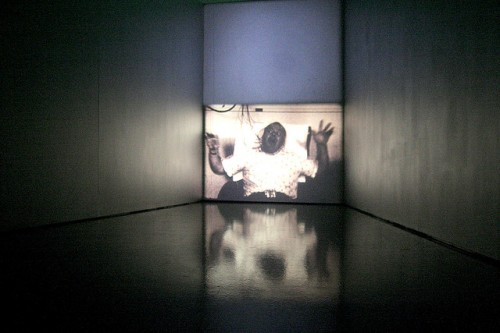 """Epileptic Seizure Comparison,"" installation view (date unknown)"